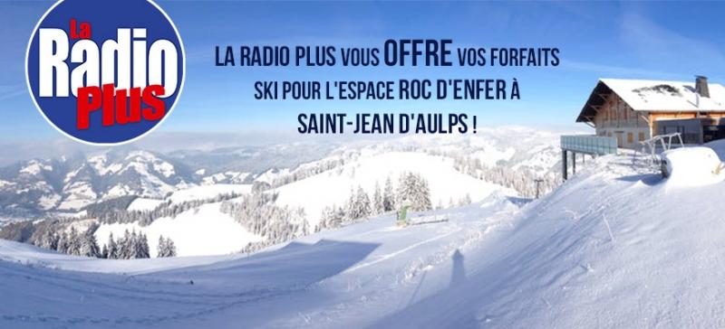 Gagnez vos forfaits ski pour Roc d'Enfer !