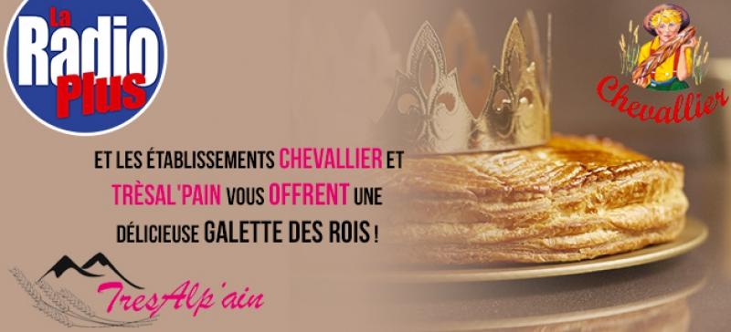 Gagnez une délicieuse galette des rois avec La Radio Plus !