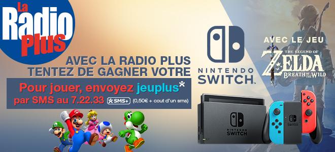 Gagnez votre Nintendo Switch et le jeu 'The Legend of Zelda'