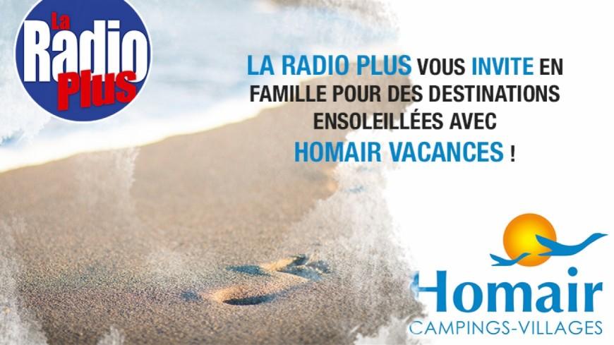 Partez pour des destinations ensoleillées avec Homair vacances !