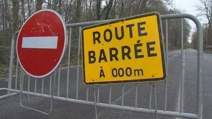 """Résultat de recherche d'images pour """"route fermée"""""""