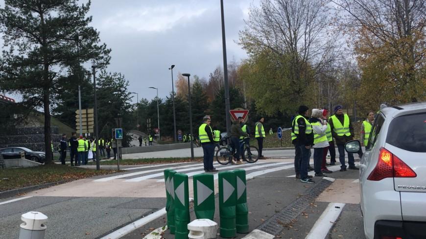 Les Gilets Jaunes à Genève mercredi