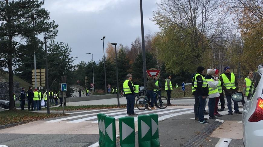 Les Gilets jaunes se rassemblent à Genève