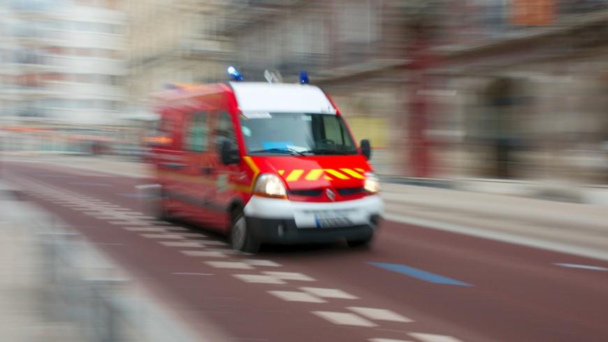 Un motard gravement blessé dans un accident