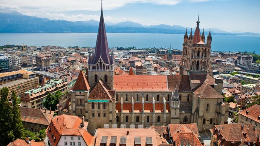 La ville de Lausanne bloquée lundi matin