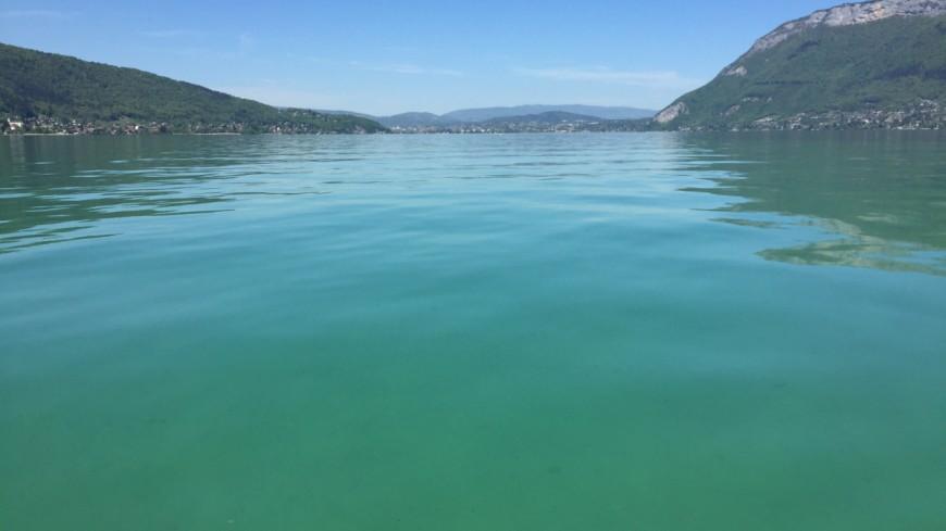 Plus de peur que de mal sur le lac d'Annecy