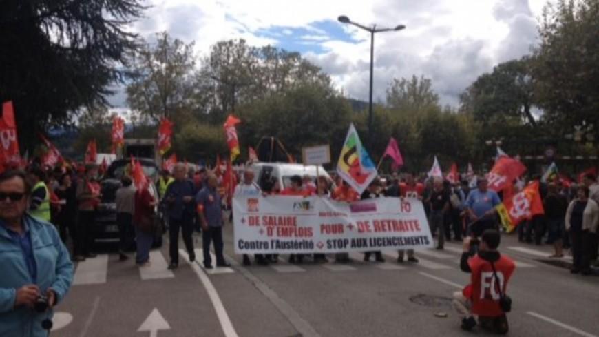 Des manifestations dans les Pays de Savoie