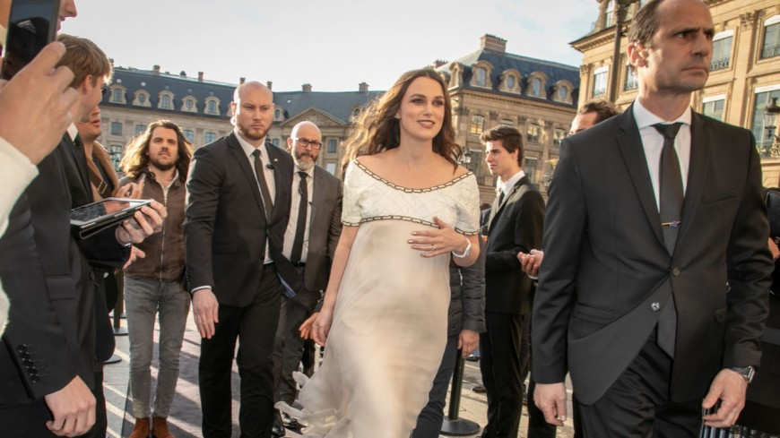 Keira Knightley enceinte de son second enfant