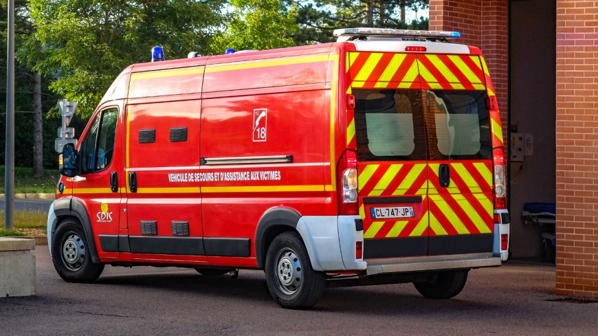 Un homme transporté à l'hôpital d'Annecy lundi