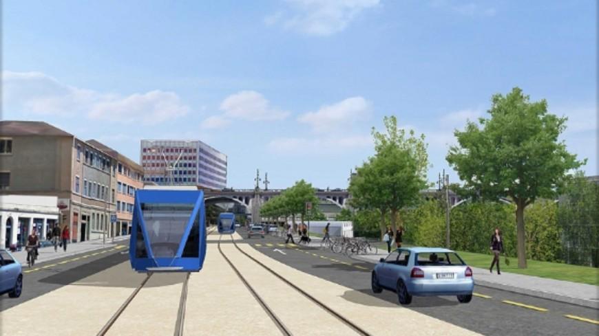 Un pas vers le futur tram Lausanne Renens