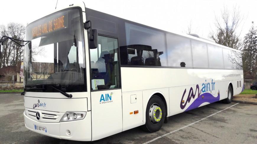 Ain : les transports scolaires restent gratuits