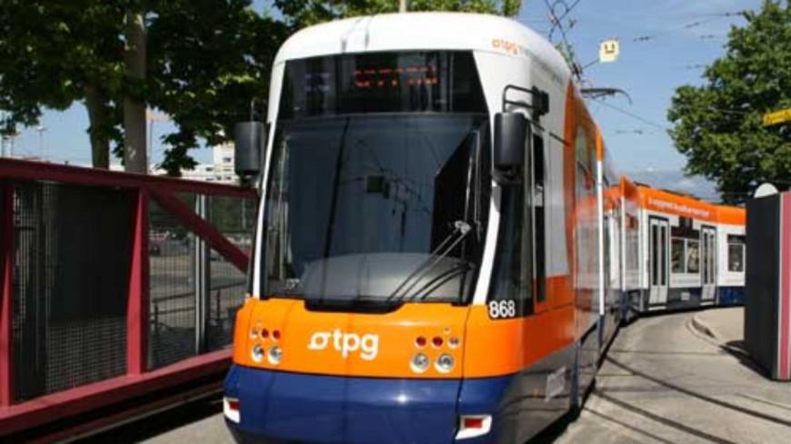 Genève : perturbations sur une ligne de tram