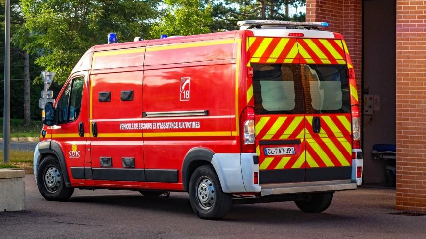 3 blessés graves après un accident à Collonges