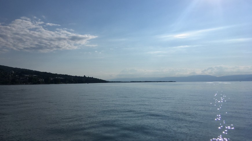 Le jet ski banni du lac Léman