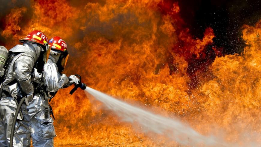 Un chalet en feu à Samoëns dimanche
