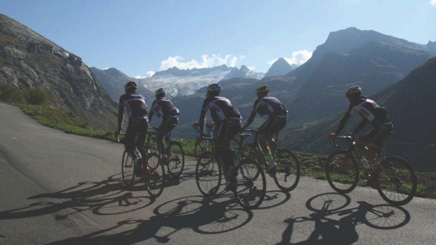 Coup d'envoi du Tour de Savoie Mont-Blanc