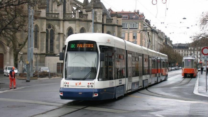 Genève : la ligne 12 à l'arrêt cet été
