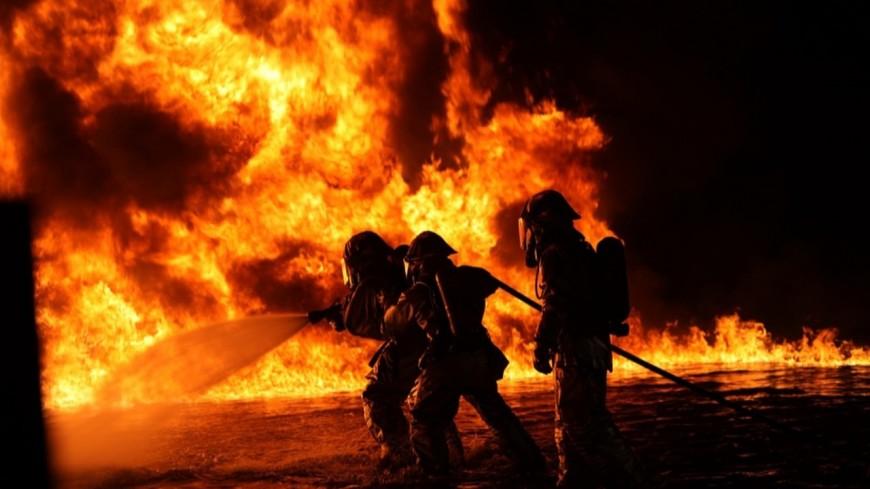 Un restaurant en feu tard dans la nuit du lundi 5 août à Morzine