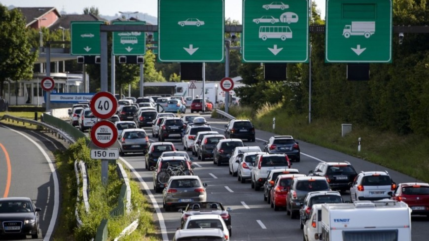 Le nombre de frontaliers en hausse à Genève