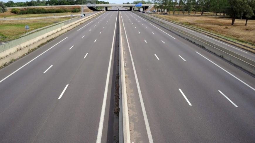Etape importante sur l'autoroute à Bonneville