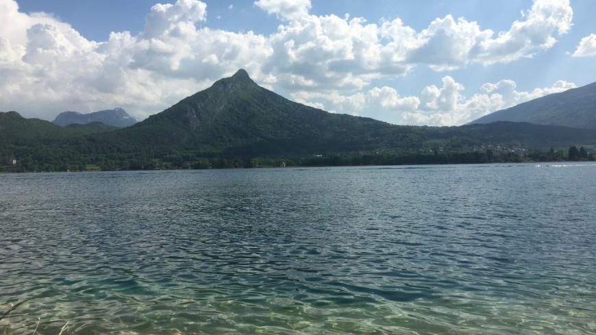 Le niveau du lac d'Annecy au plus bas de l'année