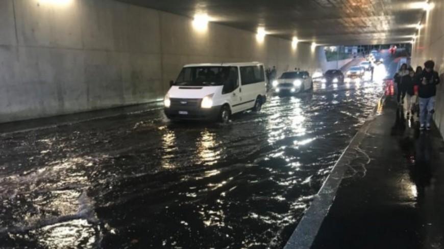Une nouvelle inondation à Renens