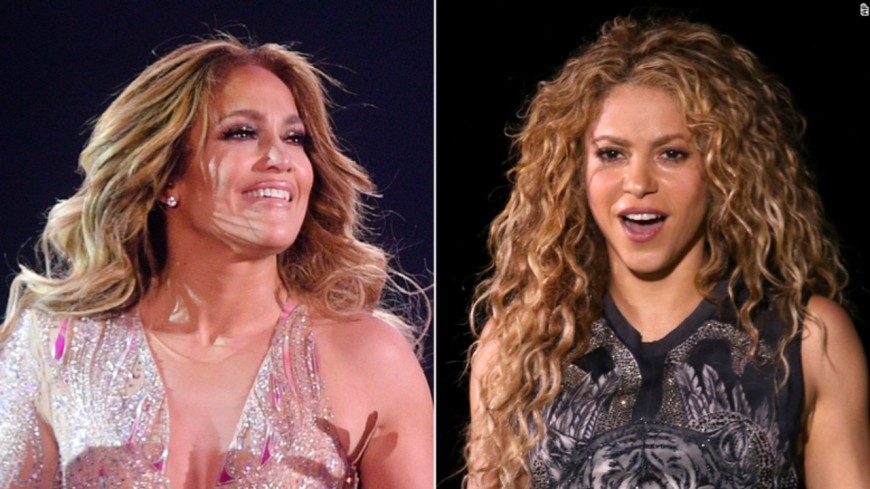 Jennifer Lopez et Shakira à la finale du superbowl 2020 !
