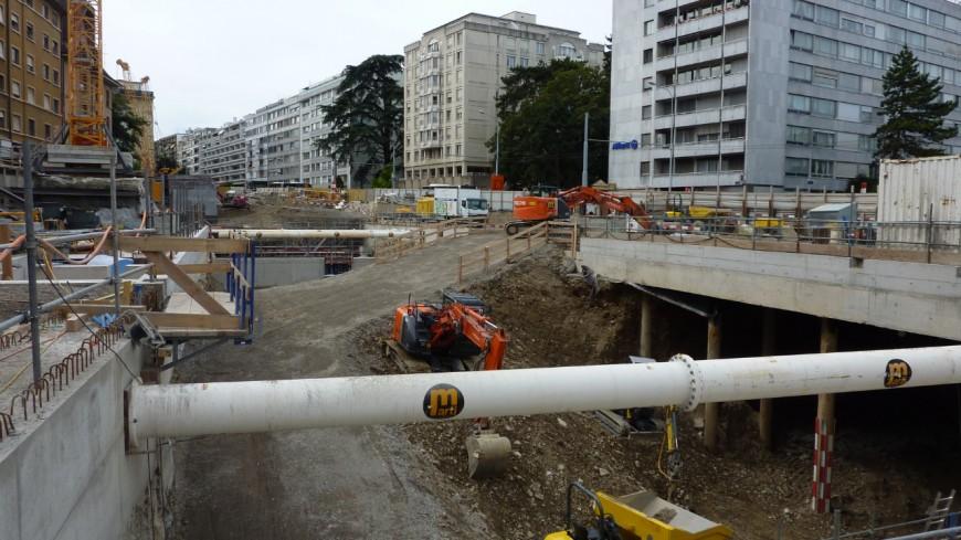 Le projet Ceva vers les rails à Genève