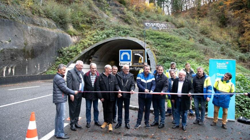 Chablais : éclairage novateur dans les tunnels