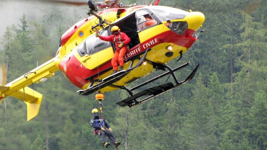 Gros déploiement de secours à Sallanches