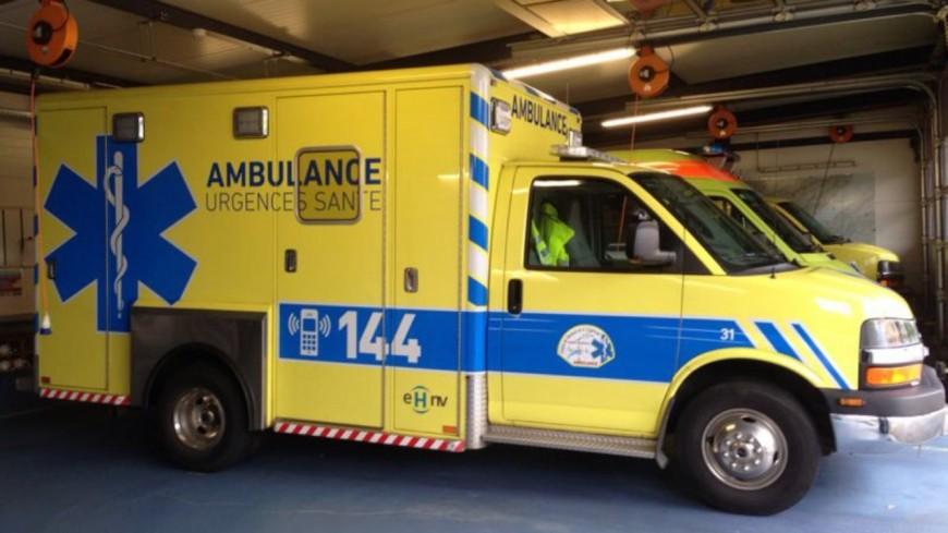 Une femme blessée à Lausanne mercredi