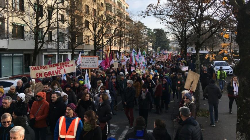 Haute-Savoie : mobilisation en baisse