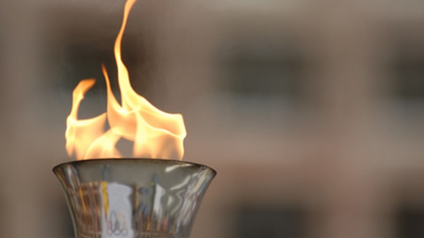 La flamme olympique est en vallée de Joux !
