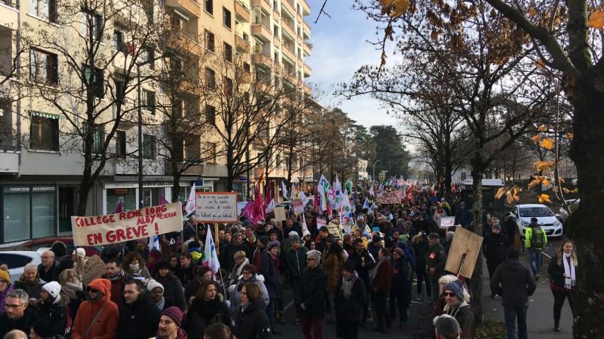 Nouvelles mobilisations en Haute-Savoie