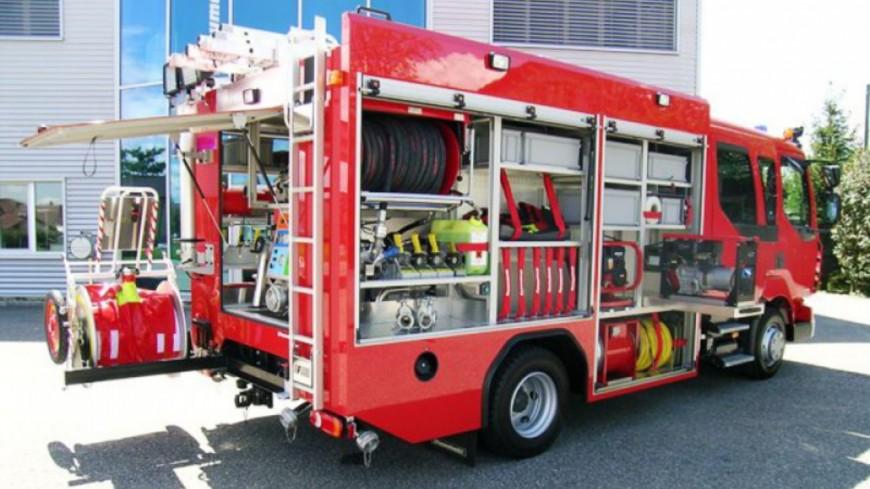 Un food-truck en feu à Champel