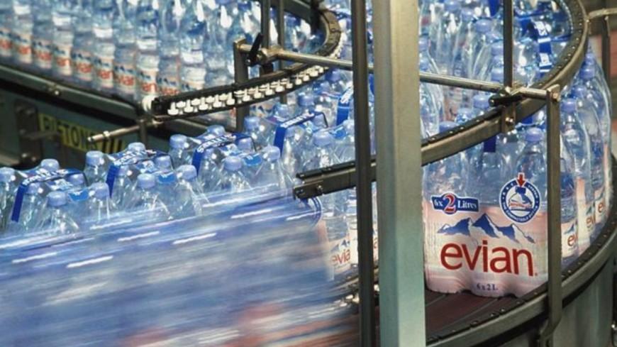 L'usine Evian toujours en grève à Amphion