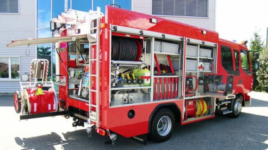 La Praille : nouvel incendie dans la déchetterie