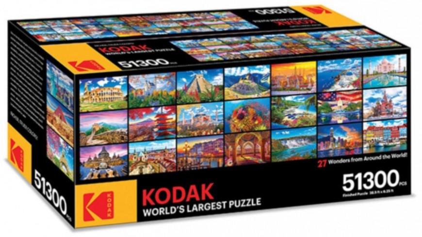 Un puzzle concu par Kodak de 51300 pièces  !