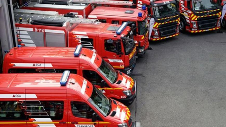 Genève : un incendie à Plainpalais