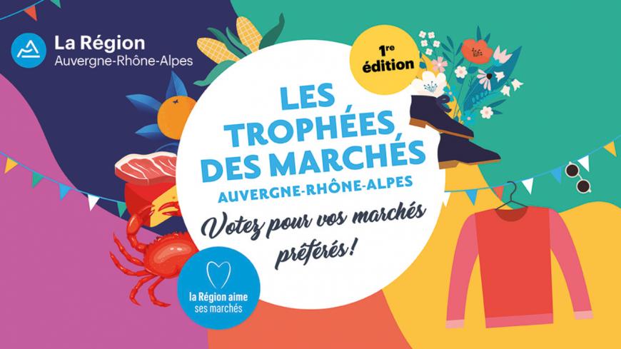 """La Région Auvergne/Rhône-Alpes crée les """"trophées des marchés"""""""