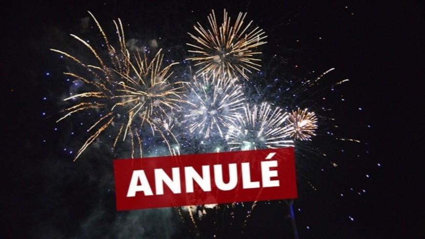 La Ville d'Evian annule les festivités du 15 août.
