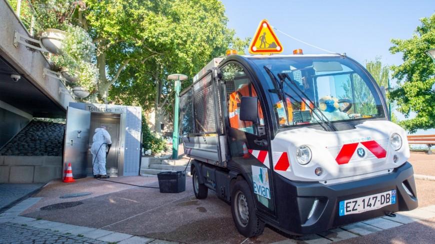Evian soigne ses espaces publics