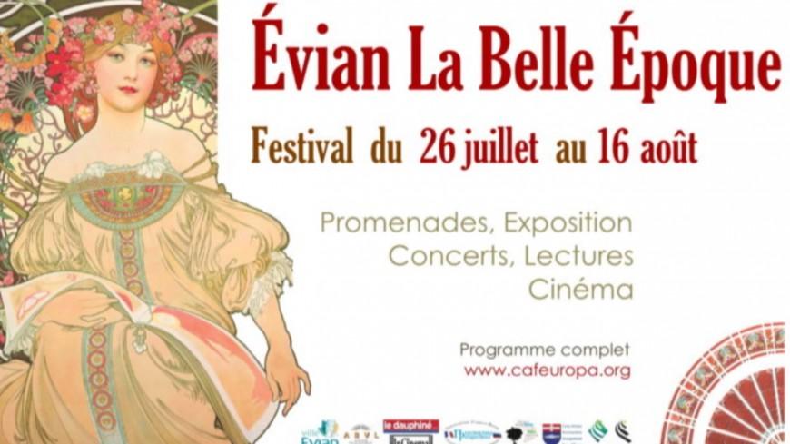 Évian : derniers jours du Festival Evian La Belle Epoque