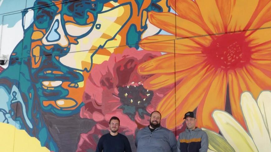 Une fresque de 50 mètres pour décorer la nouvelle gare d'Annemasse ! (photos et interviews)