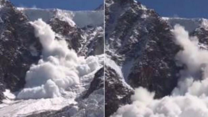 Chamonix : une avalanche impressionnante capturée en vidéo !