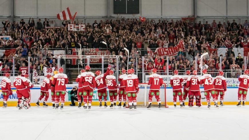 Le grand retour du hockey en Suisse ce week-end
