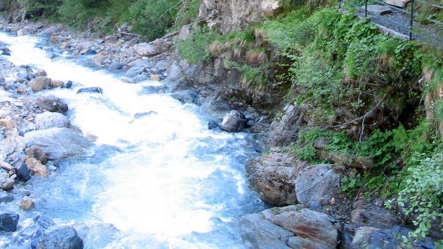 Une pollution de cours d'eau à Saint-Gervais