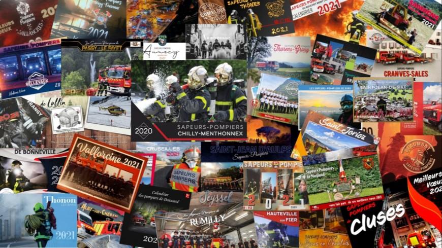 Les sapeurs-pompiers 74 vendent leur calendrier
