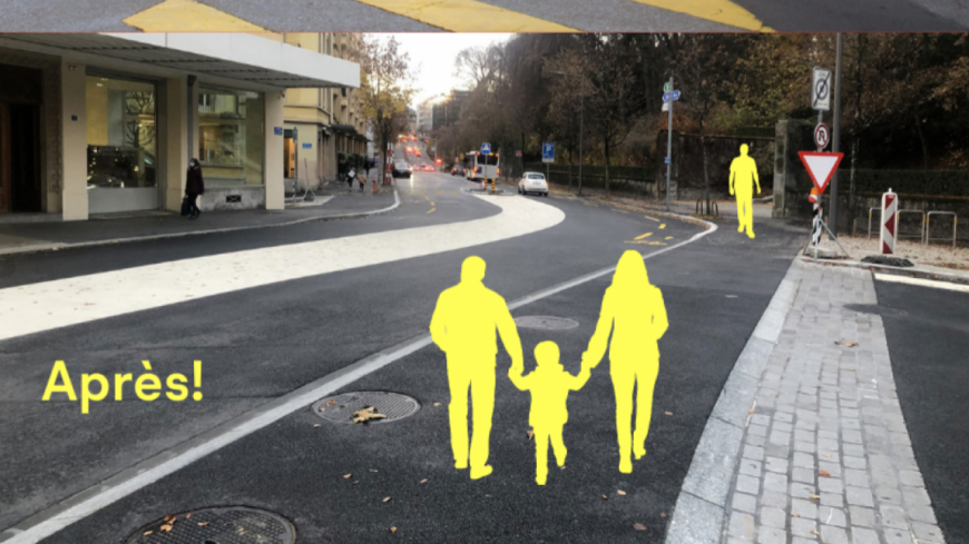Lausanne fait des piétons sa priorité