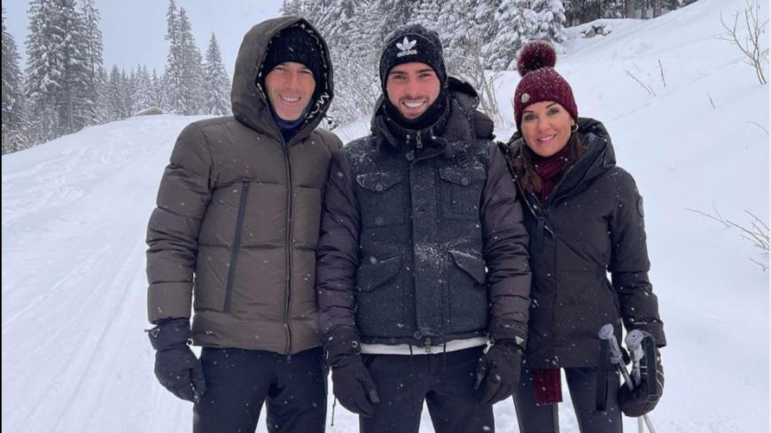 Zinédine Zidane pose ses valises à Courchevel pour Noël ! (photos)